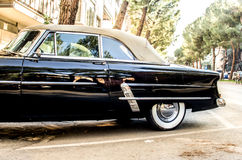 Convertible vintage car Royalty Free Stock Images