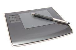 Convertisseur analogique/numérique avec le crayon lecteur Image stock