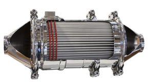 Convertisseur catalytique et filtre de particules Photo stock