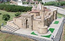 Convertito del tempio della chiesa alla moschea Immagini Stock