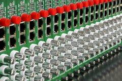 Convertitore ottico della fibra video Immagine Stock Libera da Diritti