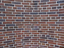 Convex brick structure Royalty Free Stock Photo
