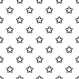 Convex five pointed celestial star pattern Royalty Free Stock Photo