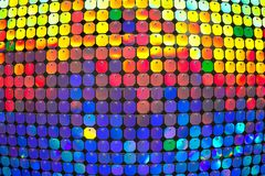 Convex multi-colored background. The colored circles. Free space royalty free stock photos