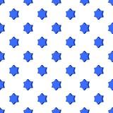 Convex star pattern, cartoon style Stock Photo