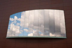 Convex window Royalty Free Stock Image