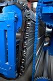 Convey-er belt. industry track. conveyor belt. Royalty Free Stock Photography