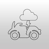 Conveyance concept design. Illustration eps10 graphic Royalty Free Stock Images