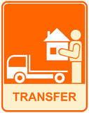 Conveyance, transfer - sign Royalty Free Stock Photography