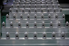 Conveyer belt Stock Images