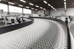 Conveyer belt. Industrial conveyer belt close up stock images