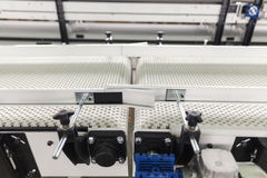 Conveyer belt. Industrial conveyer belt close up royalty free stock photo
