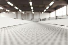 Conveyer belt. Industrial conveyer belt close up stock photography