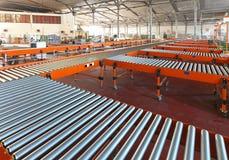 Conveyer belt system Royalty Free Stock Photos