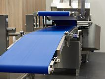 Free Conveyor And Slicer For Food Industry Stock Photography - 102032552