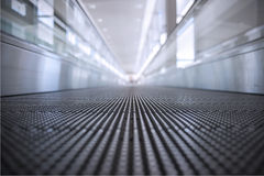 Conveyor belt at airport Stock Photo