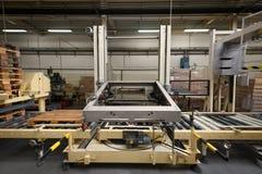 Conveyor belt in factory Stock Photos