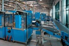 Conveyor belt for newspapers Stock Image