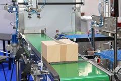 Conveyor belt Stock Photo