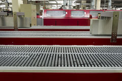 Conveyor Belt in Printing House Royalty Free Stock Photo