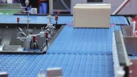 Conveyor Belt stock video footage