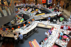 Conveyor belt Sushi restaurant Stock Photography