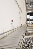 Conveyor Belt In Warehouse Royalty Free Stock Photos
