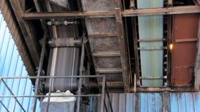Conveyor belts stock video footage