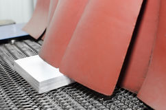 The conveyor with book royalty free stock image