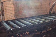 Conveyor bricks. Stock Photography