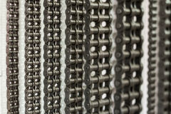 Conveyor Chains Royalty Free Stock Images