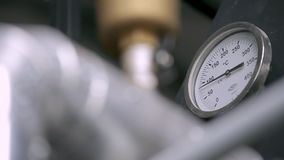 Conveyor Details Close-up stock footage