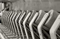 Conveyor gravel pit. Detail conveyor belt in gravel pit Royalty Free Stock Photos