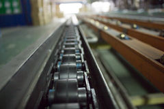 Conveyor line. Art  backdrop  background Stock Photo
