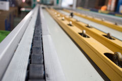 Conveyor line. Assembly chain line stock photos