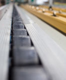Conveyor line. Assembly chain line stock image