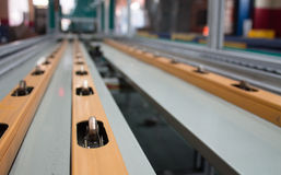 Conveyor line. Assembly chain line stock images