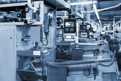 Conveyor in modern plant Stock Photo