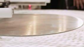 Conveyor product line conveyer belt stock video footage
