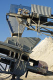 Conveyor sand Royalty Free Stock Photo
