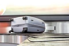 The conveyor suitcases Stock Photo