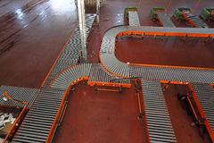 Conveyor system Royalty Free Stock Images