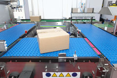 Conveyor systems Stock Images
