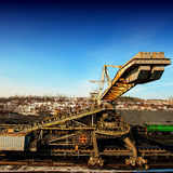 Conveyor transport Royalty Free Stock Photography