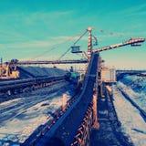 Conveyor transport Stock Image