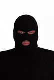 Convict in balaclava Stock Image