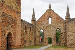 Convict Church - Port Arthur Royalty Free Stock Photography