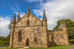 Convict Church Port Arthur Tasmania Royalty Free Stock Photography