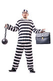 Convict criminal Royalty Free Stock Photography