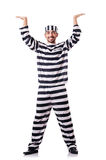 Convict criminal Royalty Free Stock Photo